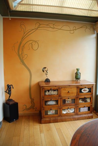 Trompeoeil peinture murale prez nouveau horta hot issues - Deco peinture murale ...